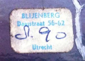 Blijenberg - prijssticker