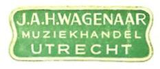 Sticker Wagenaar (grote variant)