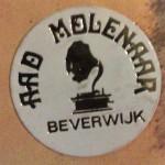 Sticker Aad Molenaar