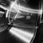Draaiende grammofoon