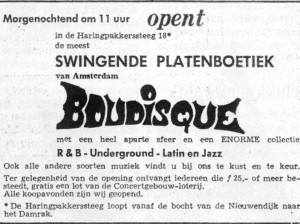 Boudisque platenboetiek (foto: Boudisque Facebook)
