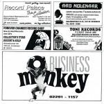 Boekje met advertenties platenzaken -  deel 2