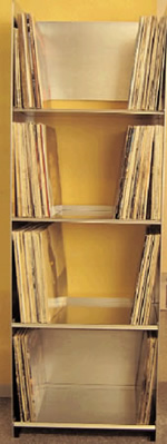 Vinyl Opbergen Platenkasten Meer Plaatzakennl